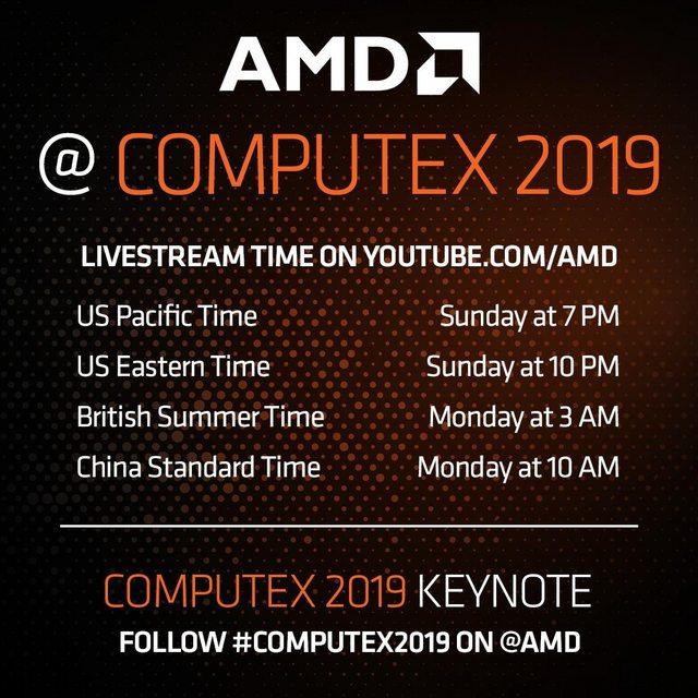 AMD Ryzen Computex 2019